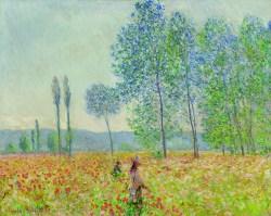 Claude Monet, Unter den Pappeln, Claude Monet Orte, Museum Barberini