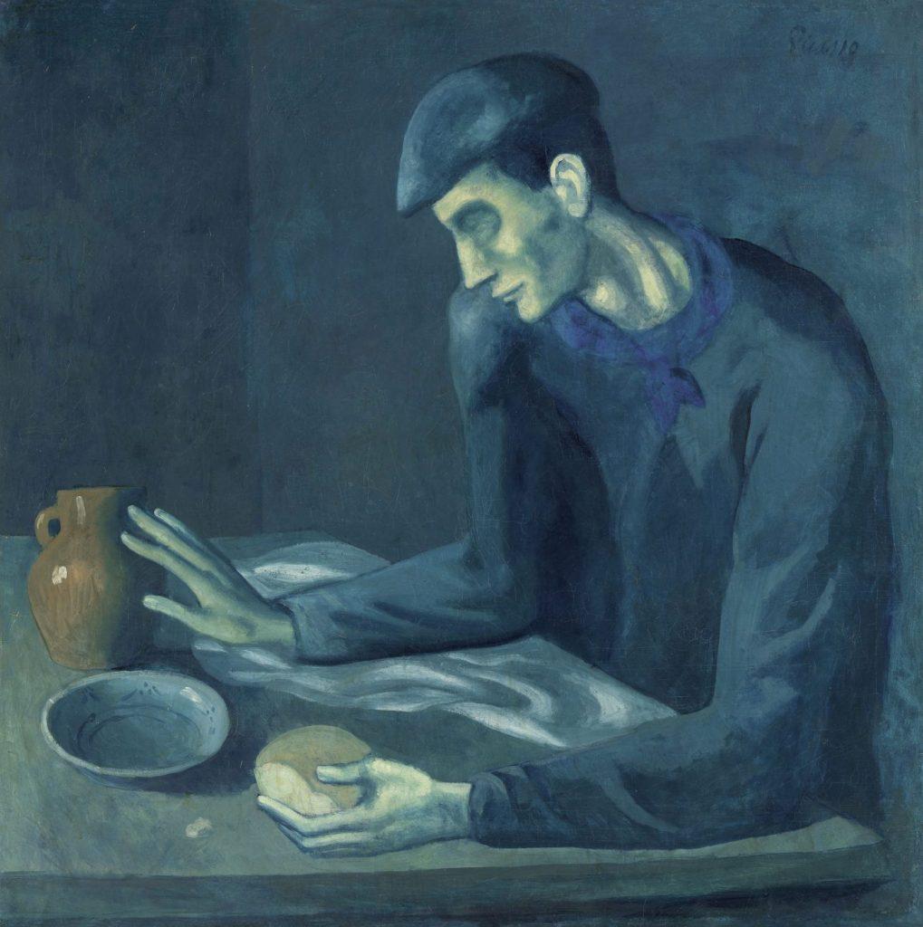 Picasso in Blau und Rosa, PABLO PICASSO, LE REPAS DE L'AVEUGLE, Fondation Beyler