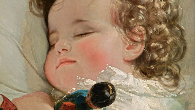Friedrich von Amerling, Porträt der Prinzessin Marie Franziska von Liechtenstein, Ausstellung Rubens bis Makart, Die Fürstlichen Sammlungen Liechtenstein, Albertina Wien