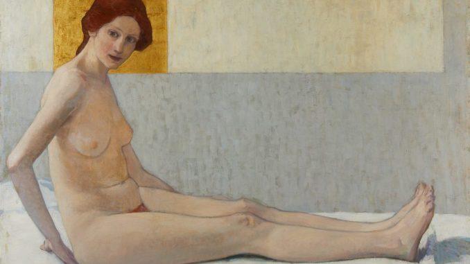 Die Wiener Moderne, Wien um 1900, Aufbruch in die Moderne, BRONCIA KOLLER-PINELL, Sitzende (Marietta), Ausstellung in Wien, Leopold Museum