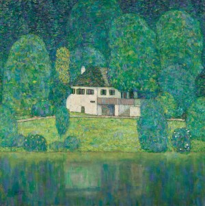 GUSTAV KLIMT - Litzlbergkeller, Wien um 1900, Aufbruch in die Moderne, GUSTAV KLIMT, Litzlbergkeller, Ausstellung in Wien, Leopold Museum