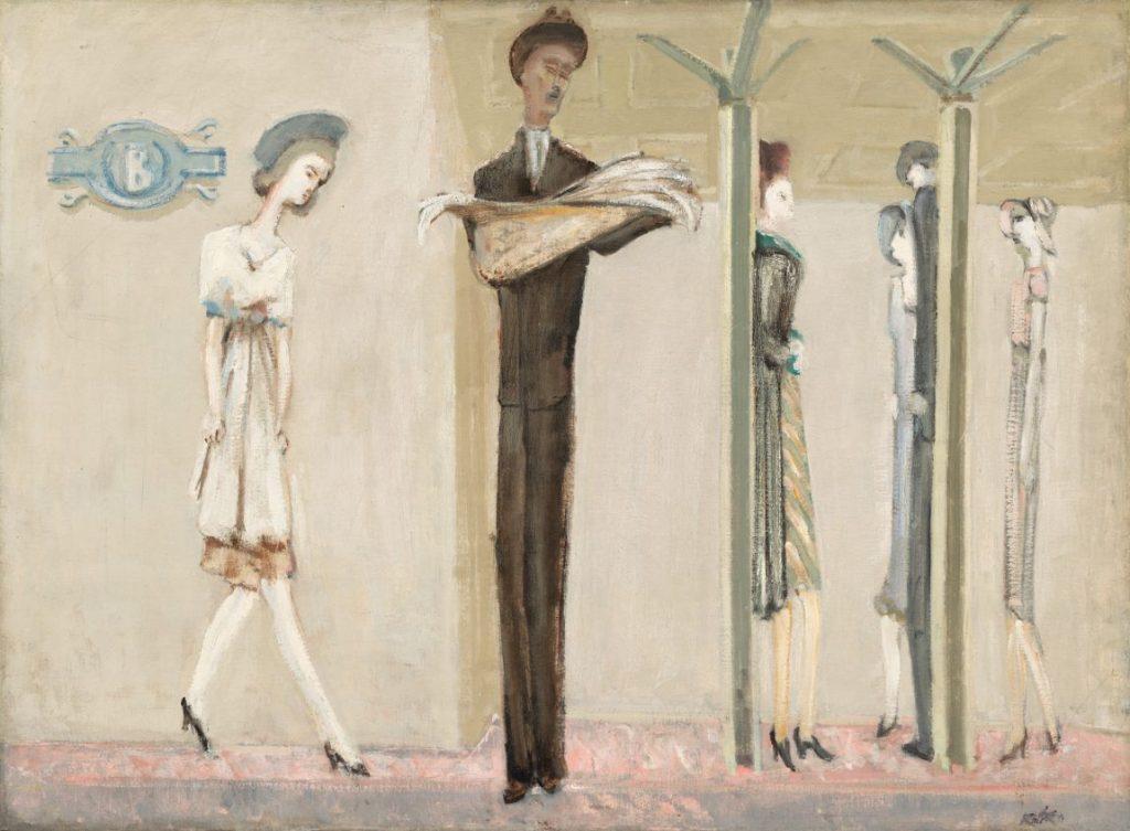Mark Rothko - Underground Fantasy, Mark Rothko Ausstellung, Mark Rothko Bilder, Rothko Ausstellung in Wien, Rothko Retrospektive im KHM, Kunsthistorisches Museum