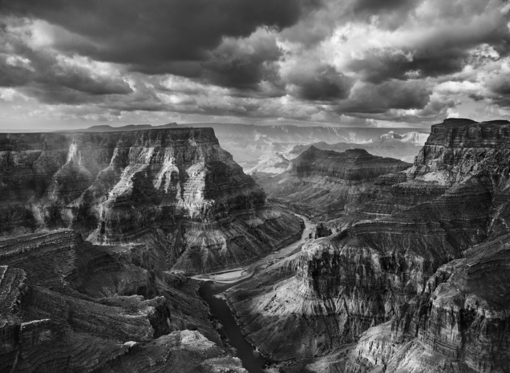Sebastiao Salgado Genesis, Sebastiao Salgado Ausstellung, Grand-Canyon Nationalpark, Zusammenfluss von Colorado und Little Colorado