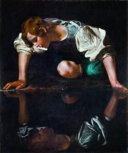 Caravaggio, Narziss, Wege des Barock, Die Nationalgalerien Barberini Corsini in Rom, Ausstellung Wege des Barock, Museum Barberini,