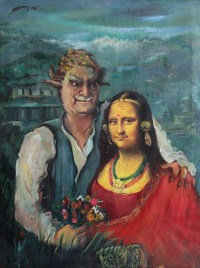 Mona Lisa and Manuj Babu, Nepal Art Now, Weltmuseum Wien