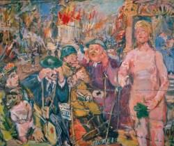 Oskar Kokoschka Biografie, OSKAR KOKOSCHKA, Anschluss - Alice im Wunderland,