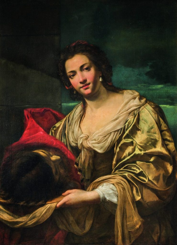 Simon Vouet, Salome, Wege des Barock, Die Nationalgalerien Barberini Corsini in Rom, Ausstellung Wege des Barock, Museum Barberini