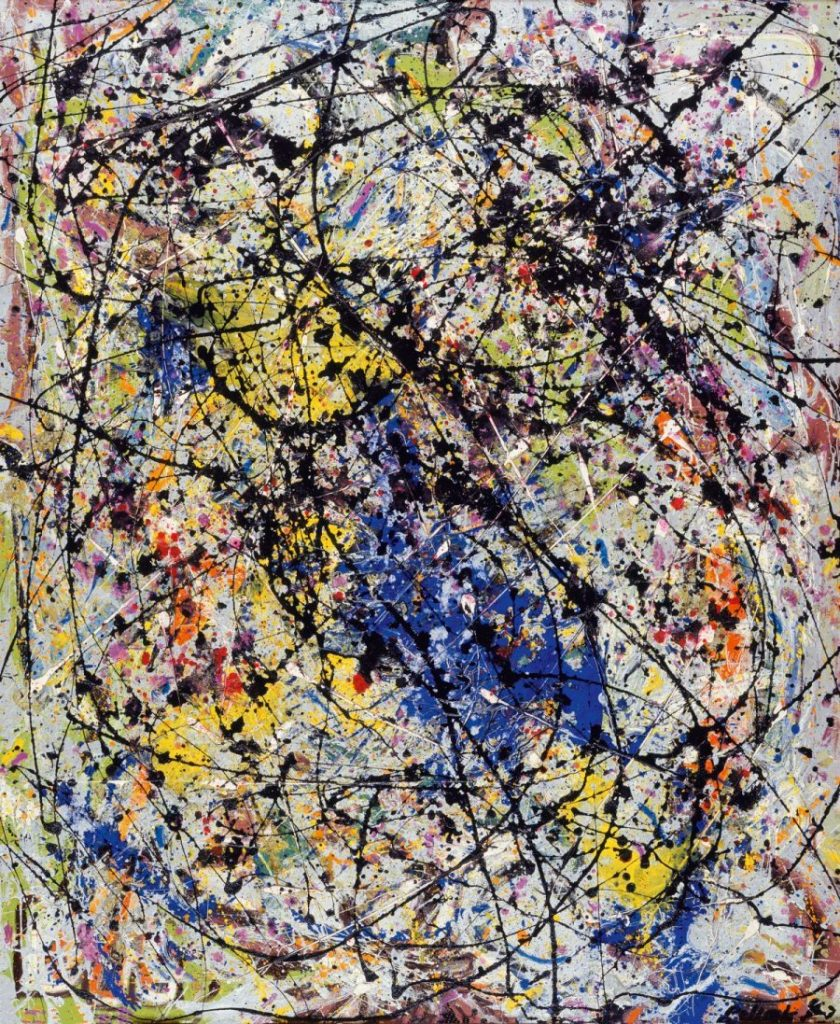 Jackson Pollock, Reflection of the Big Dipper, Ausstellung AMERIKA, DISNEY, ROCKWELL, POLLOCK, WARHOL