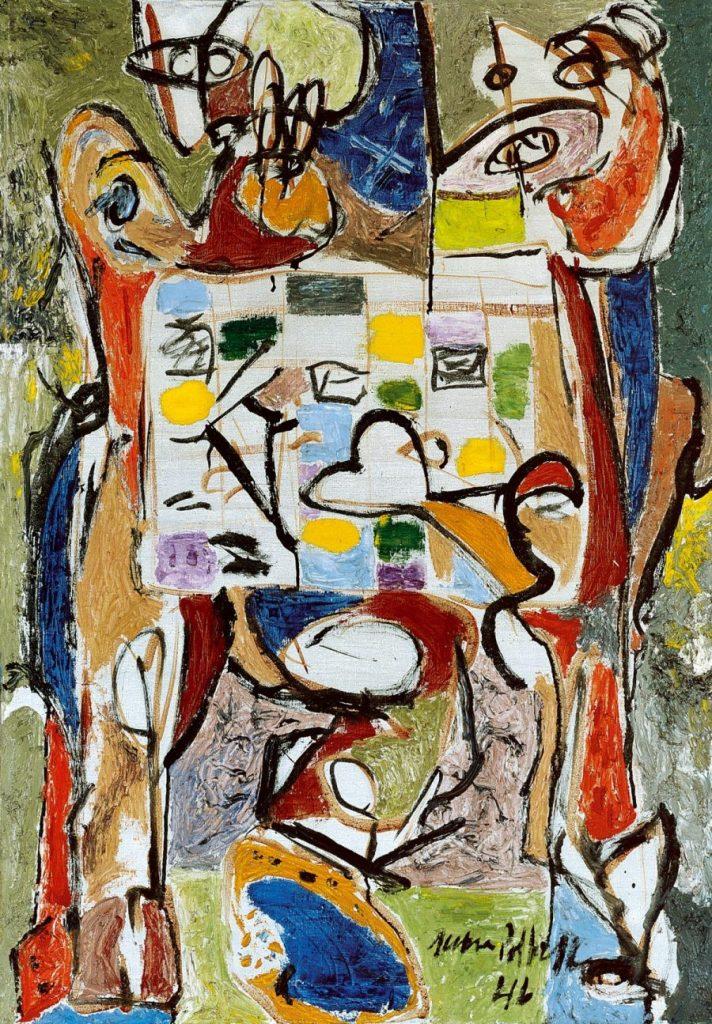 Jackson Pollock, The Tea Cup, Ausstellung AMERIKA, DISNEY, ROCKWELL, POLLOCK, WARHOL
