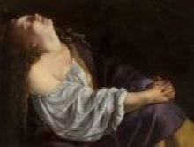 Barockspektakel, Artemisia Gentileschi, Maria Magdalena in Ekstase, Caravaggio & Bernini Ausstellung, Erstmals in Österreich, Ausstellung im KHM