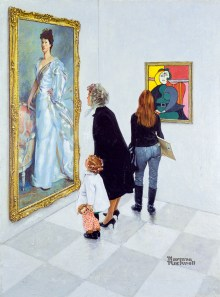 Picasso vs. Sargent, Ausstellung AMERIKA,