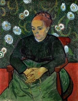 Making Van Gogh, Vincent van Gogh, Augustine Roulin, Ausstellung in Frankfurt, Städel Museum, Werke, Gemälde, Portaits