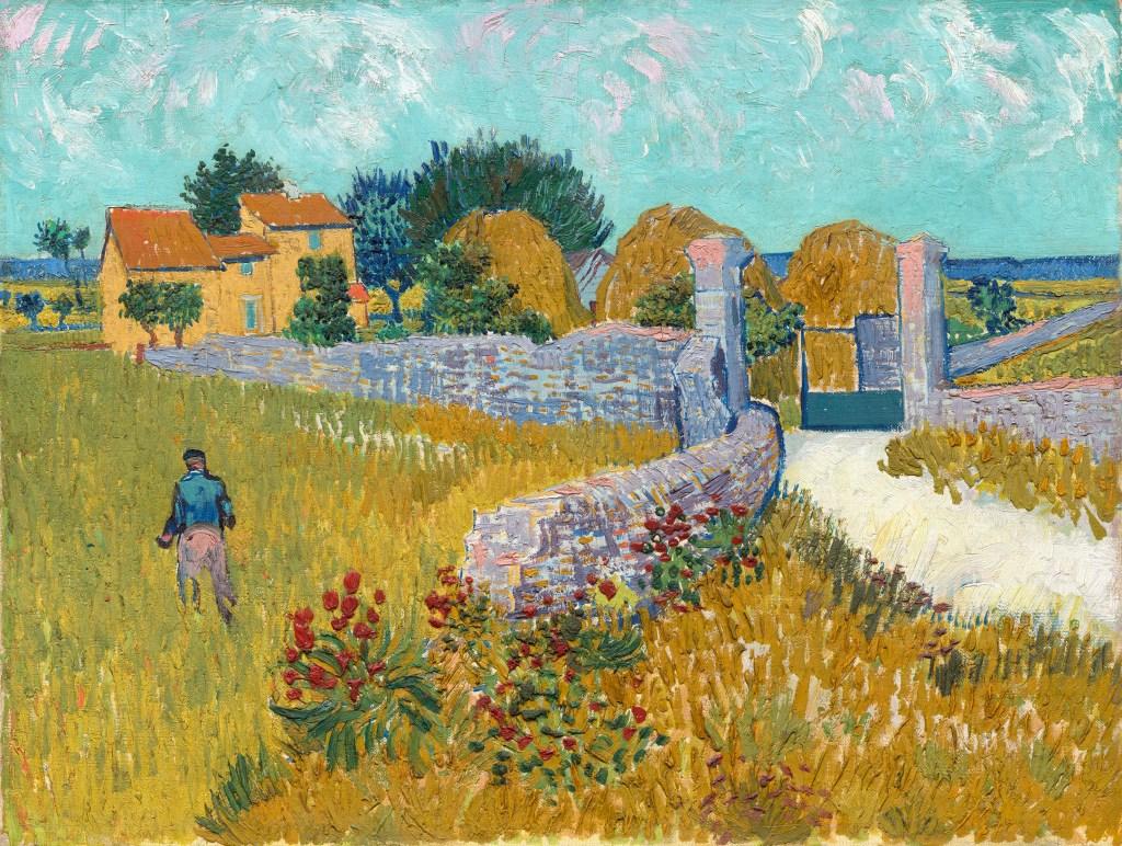 Making Van Gogh, Vincent van Gogh, Bauernhaus in der Provence, Ausstellung in Frankfurt, Städel Museum, Werke, Gemälde, Landschaften