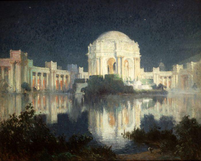California Dreams, San Francisco – ein Porträt, Colin Campbell Cooper, Der Palast der Schönen Künste