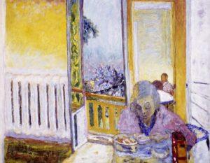 Das Frühstück, Heizkörper, Die Farbe der Erinnerung, Ausstellung im Kunstforum Wien,