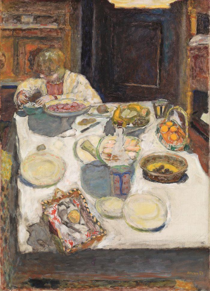 Pierre Bonnard, Der Tisch, Die Farbe der Erinnerung, Ausstellung im Kunstforum Wien,