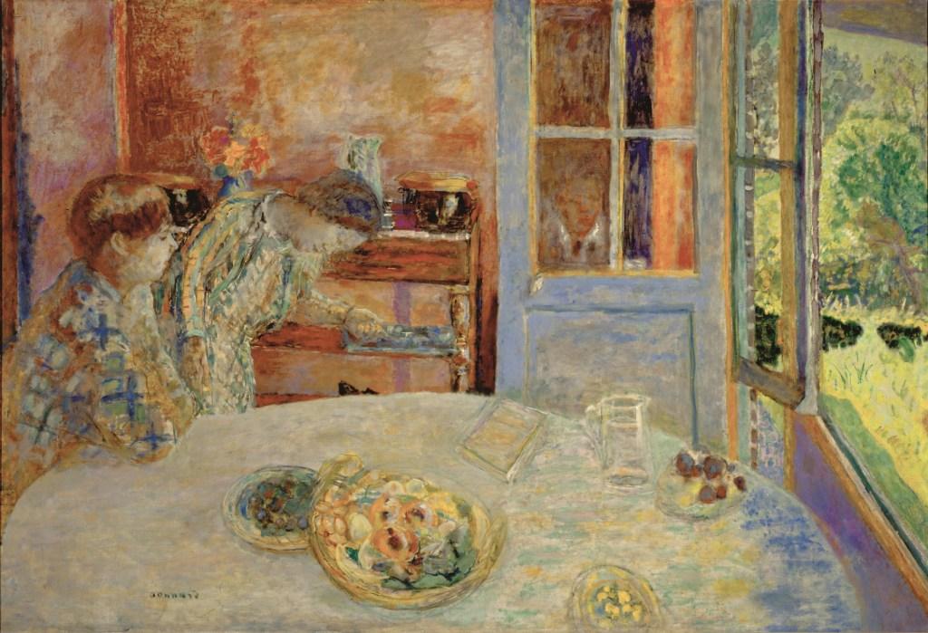 Pierre Bonnard, Esszimmer/Vernon, Die Farbe der Erinnerung, Ausstellung im Kunstforum Wien,