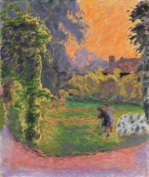 Pierre Bonnard, Sonnenuntergang, Die Farbe der Erinnerung, Ausstellung im Kunstforum Wien,