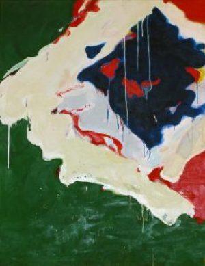 Teruko Yokoi Shizen (Natur), Werke, abstrakte Gemälde