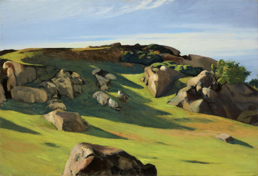 Edward Hopper, Cape Ann Granite, Hoper Ausstellung, Edward Hopper Kunstwerke, Fondation Beyeler