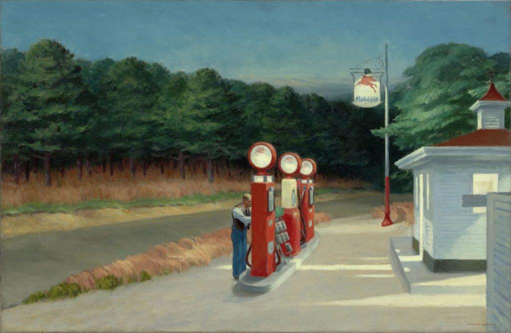 Edward Hopper, Gas, Hoper Ausstellung, Edward Hopper Kunstwerke, Fondation Beyeler