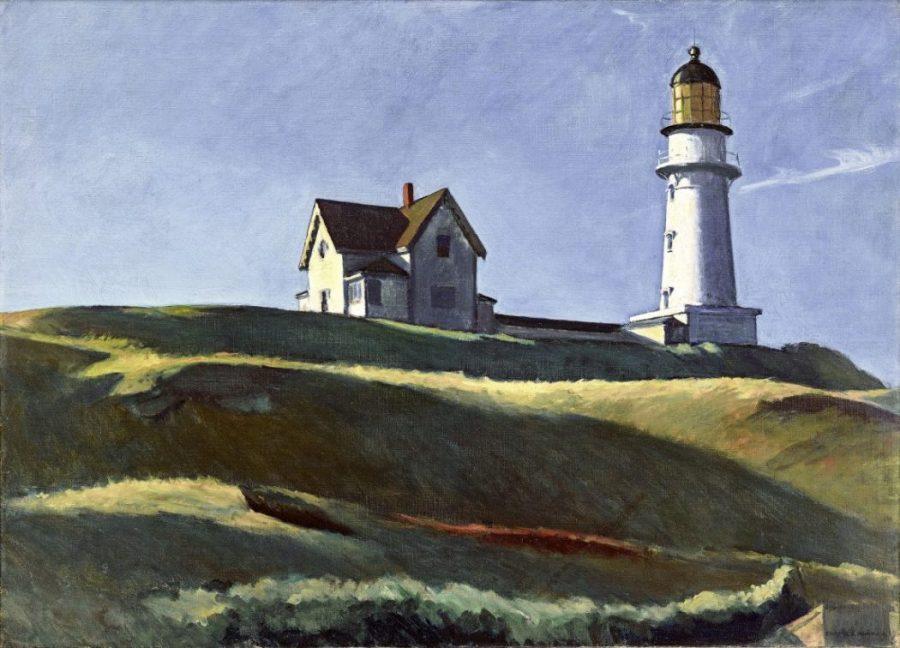 Edward Hopper, Lighthouse Hill, Hoper Ausstellung, Edward Hopper Kunstwerke, Fondation Beyeler