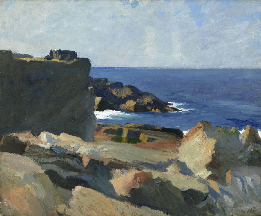 Edward Hopper, Square Rock, Hoper Ausstellung, Edward Hopper Kunstwerke, Fondation Beyeler