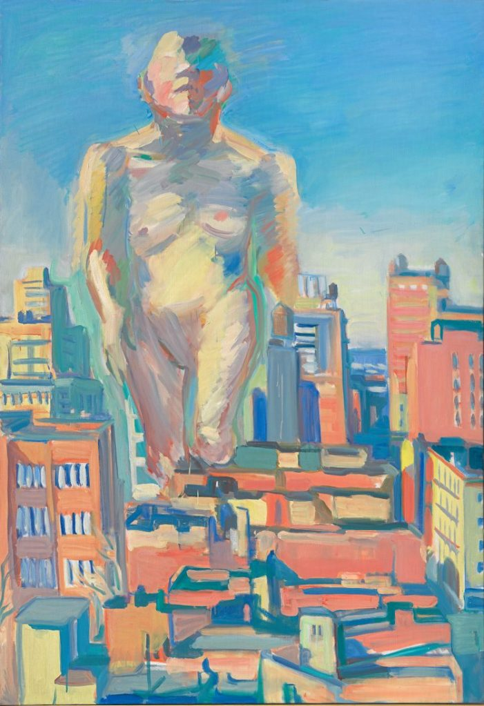 Maria Lassnig, Woman Power, The Beginning, Albertina Modern,