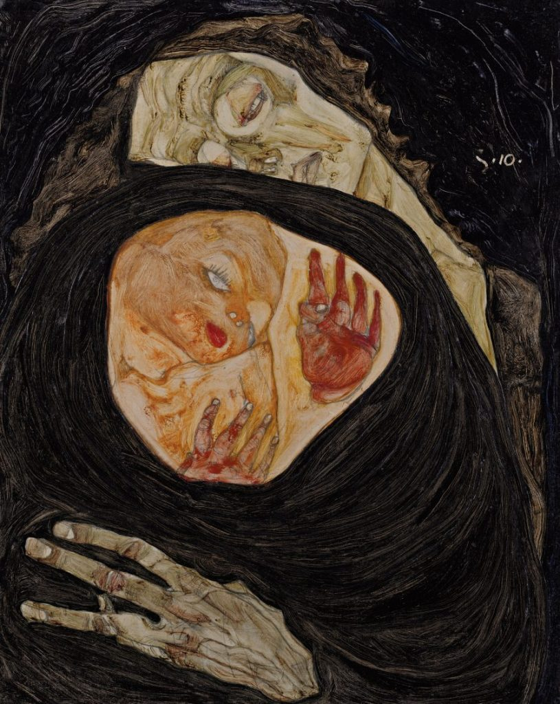 EGON SCHIELE, Tote Mutter
