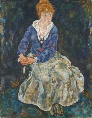 Egon Schiele, Die Frau des Künstlers,