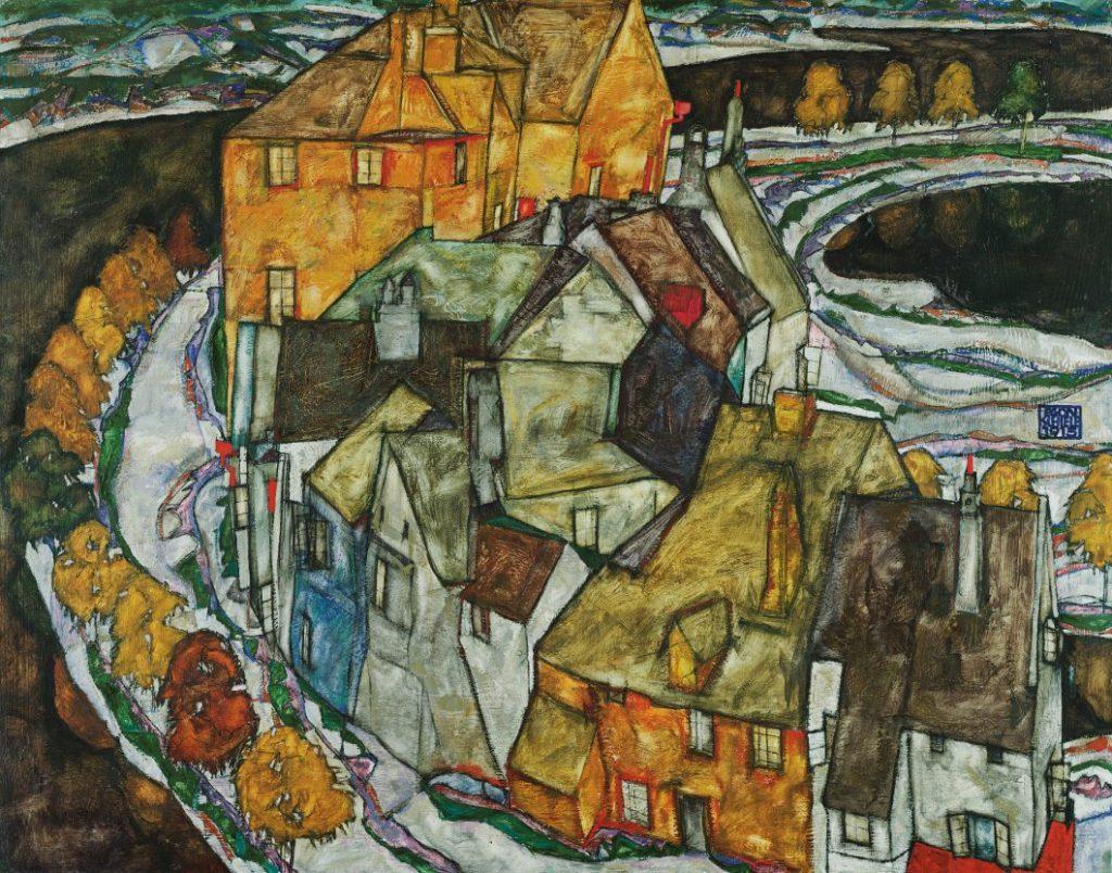 Egon Schiele, Der Häuserbogen