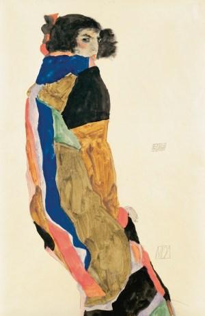 Egon Schiele, Moa, Tänzerin Moa Mandu,
