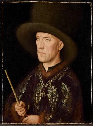 Jan van Eyck, Bildnis des Baudouin de Lannoy, Museum der schönen Künste, Gent, Van Eyck Ausstellung
