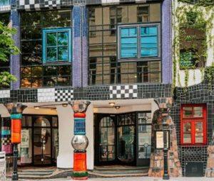 Kunst Haus Wien - Museum Hundertwasser, Fenster