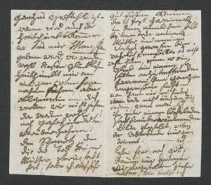 Ludwig van Beethoven: Brief an Heinrich von Struve, Bundeskunsthalle Bonn,