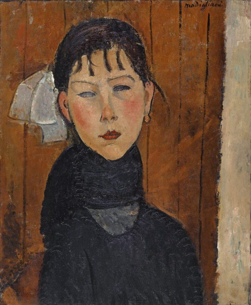 Amedeo Modigliani, Marie (Marie, fille du peuple), Kunstmuseum Basel, Meisterwerke der Sammlung Im Obersteg