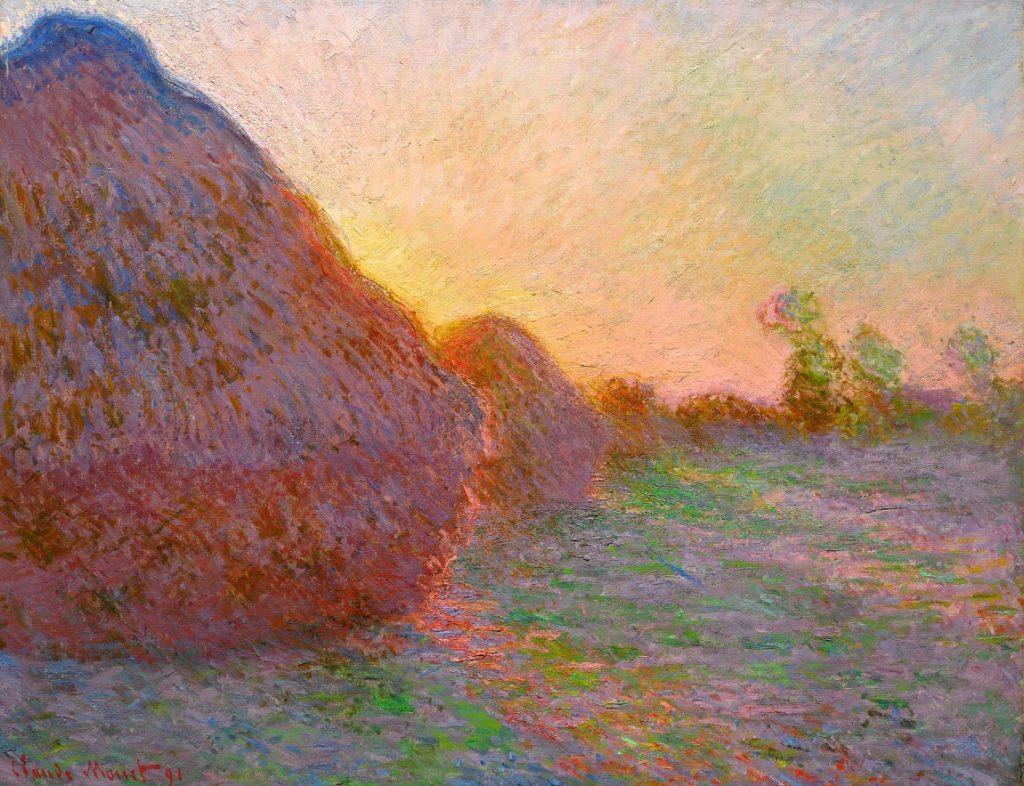 Claude Monet, Getreideschober, Hasso Plattner Foundation, Museum Barberini