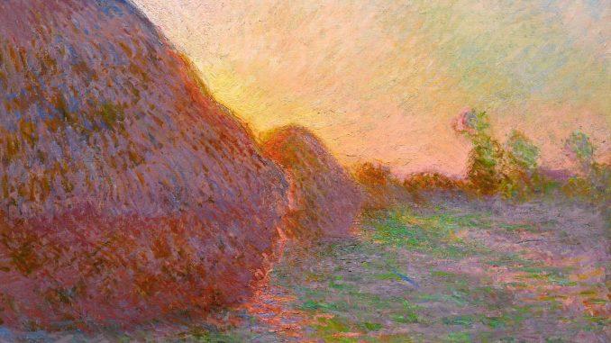 Claude Monet, Getreideschober, Claude Monets Getreideschober, Der Getreideschober