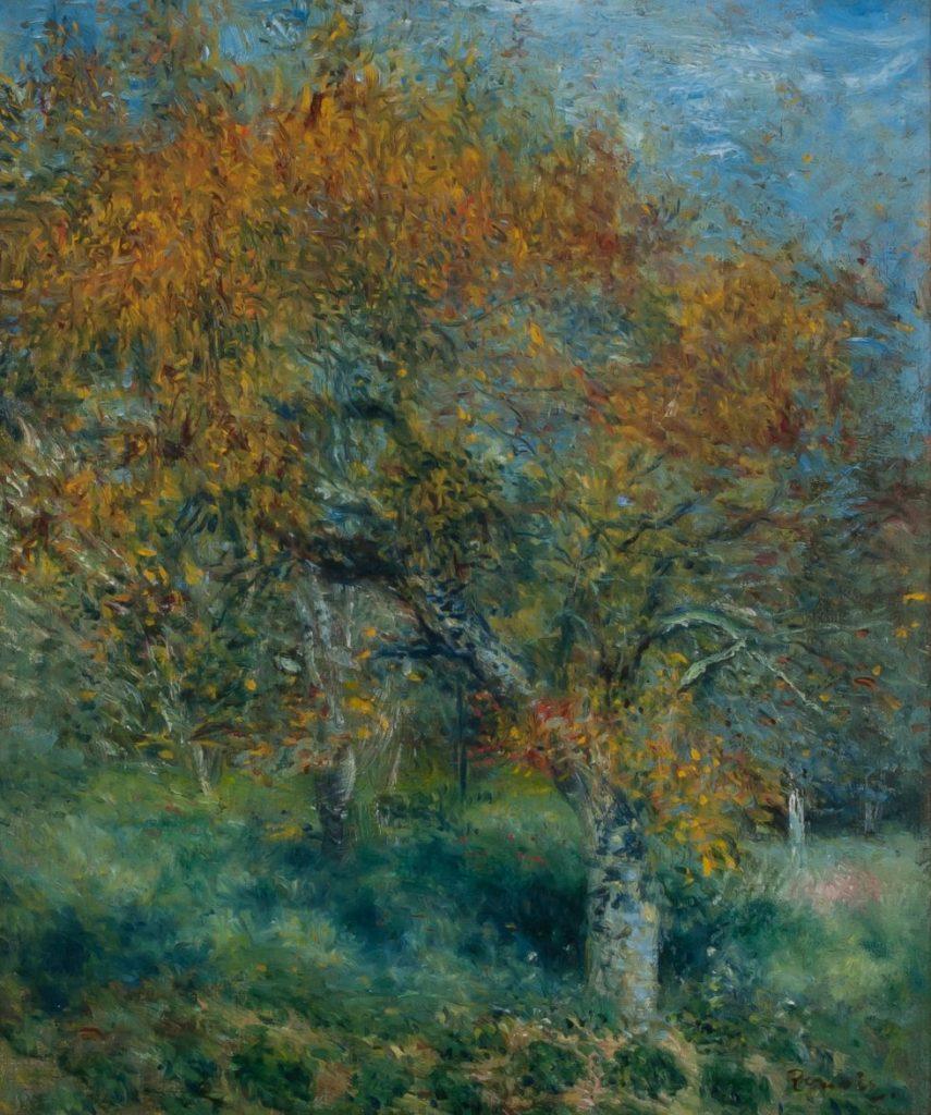 Pierre-Auguste Renoir, Der Birnbaum, Hasso Plattner Foundation, Museum Barberini