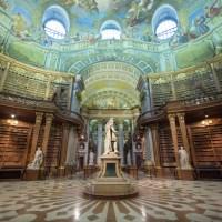"""Die Ausstellung """"Maria Theresia"""" im Prunksaal der Österreichischen Nationalbibliothek"""
