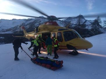 Scontro sugli sci al Plateau Rosa, 65enne grave al Parini