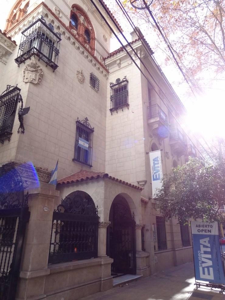 Museu da Evita Perón, também vale a para no restaurante