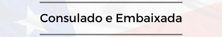 contato de emergencia - consulado e embaixada
