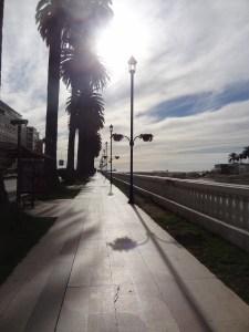 A caminhada pela cidade de Viña