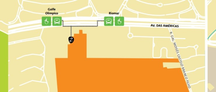 como-chegar-a-barra-da-tijuca-olimpiadas-mapa-golfe Como chegar a Barra da Tijuca   Guia Olímpico Rio 2016