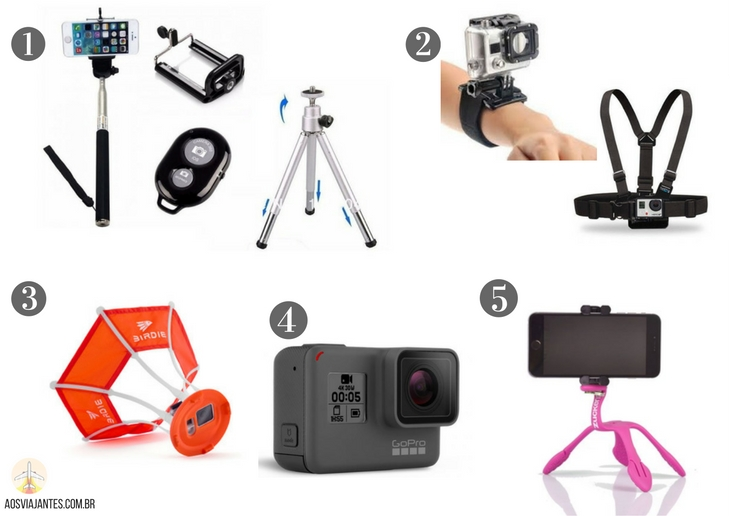 Dicas-de-presentes-para-viajantes-fotografia-gopro-e-selfie +40 Dicas de presentes para viajantes !