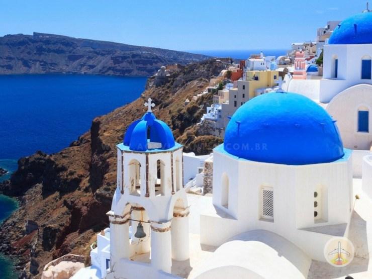 20 Cidades do mundo para visitar ao menos uma vez - santorini