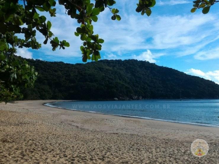 Como chegar a Ilha Grande e onde se hospedar - praia do aventureiro