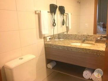 onde se hospedar em belo horizonte quality pampulha quarto e banheiro