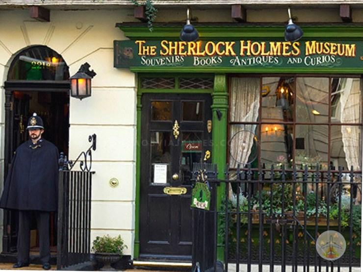 Cenários-e-Museu-de-Sherlock-Holmes-em-Londres-museu Cenários e Museu de Sherlock Holmes em Londres